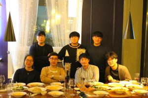 16.11.18 Dr. Chung's farewell dinner 이미지